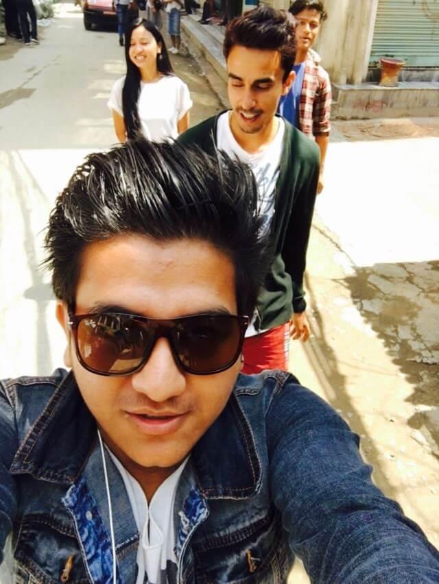 Jeevan Dhakal - Those random walks on street - Thamel, Kathmandu