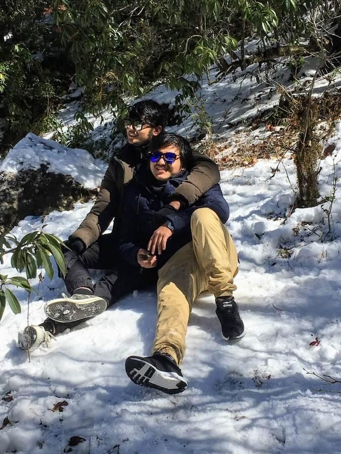 Jeevan Dhakal - Always bros before hoes - Daman, Nepal