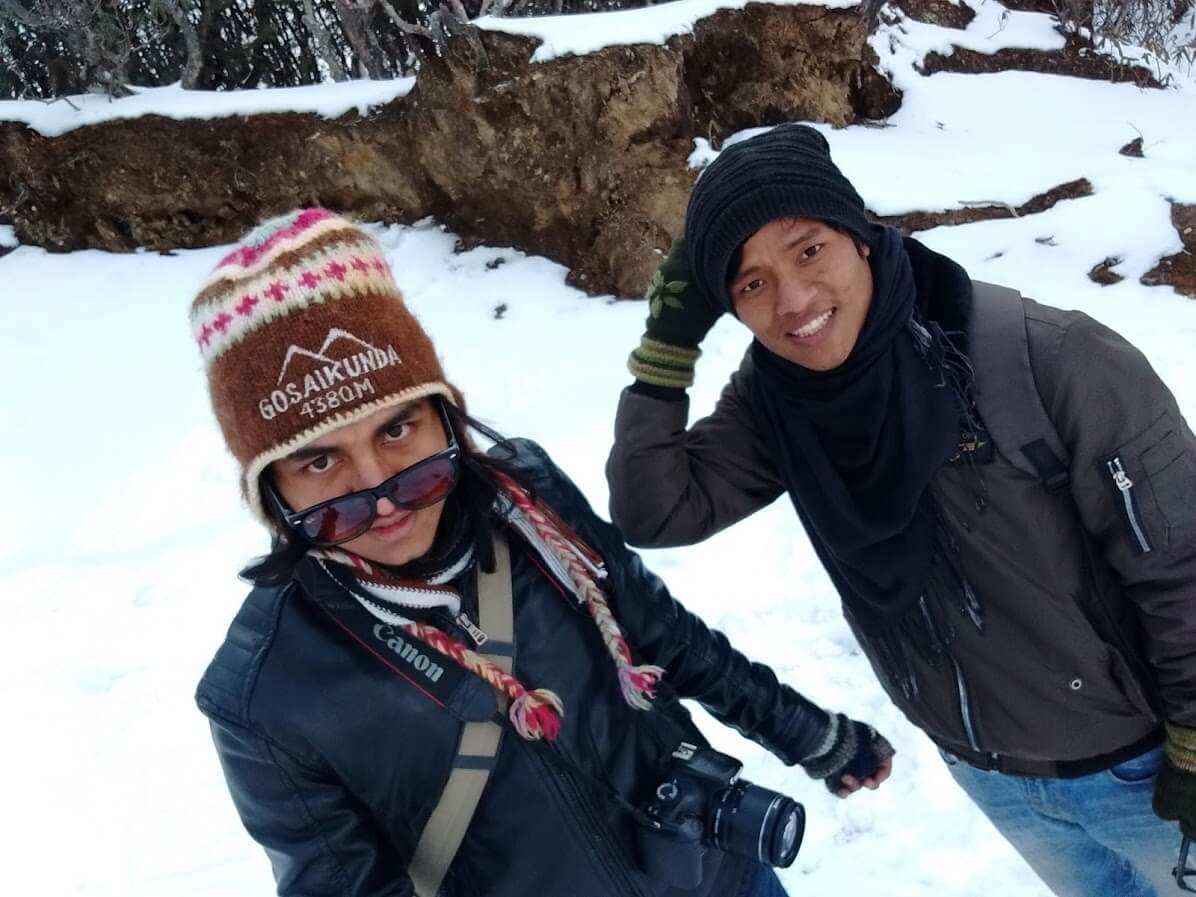 Jeevan Dhakal - Yooo bro!! - Kalinchwok, Nepal
