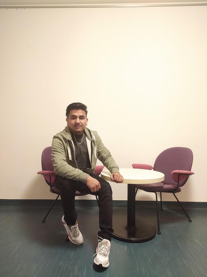 Jeevan Dhakal - First day in Austria - Linz, Austria
