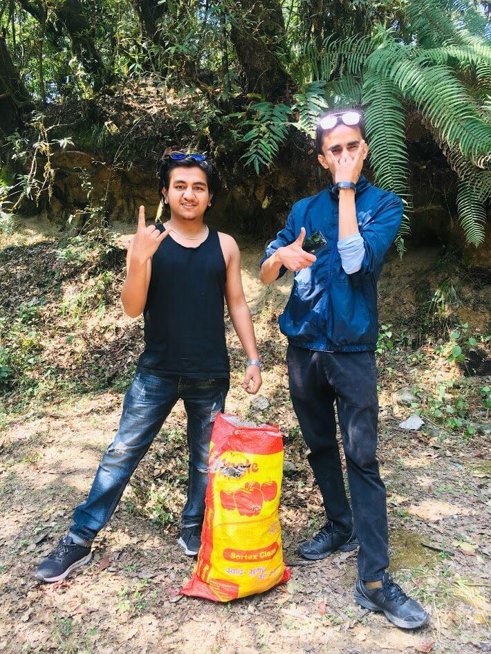 Jeevan Dhakal - Keep your earth clean, because it's not Uranus - Baghdwar, Kathmandu