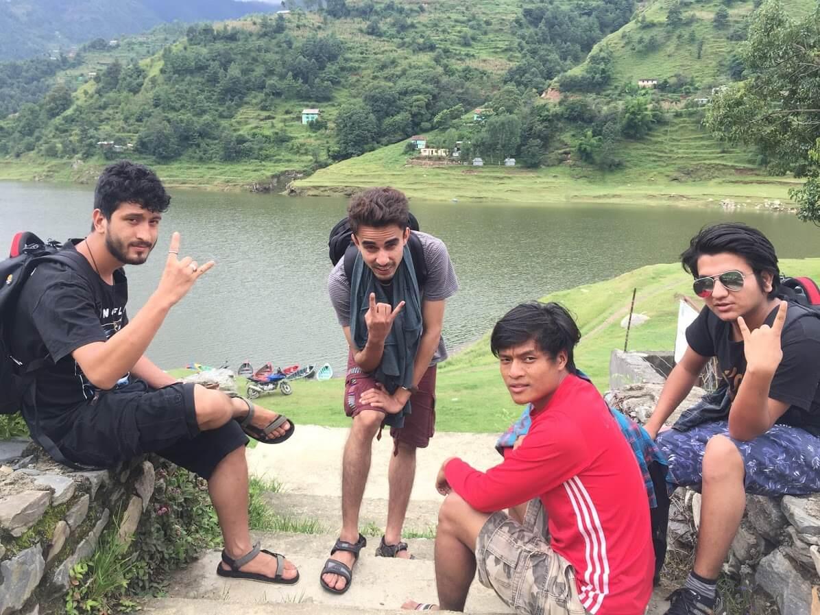 Jeevan Dhakal - 12 hours of walk and a groupie - Kulekhani, Makawanpur